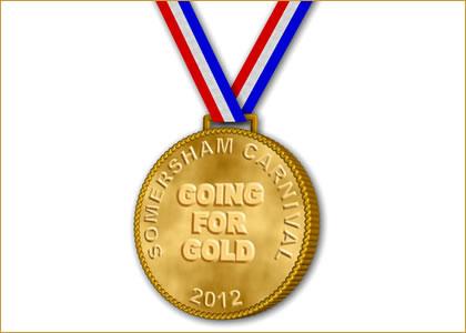 Somersham Carnival Going For Gold medal