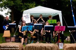 St Ives Rhythm and Blues band at 2011 Carnival