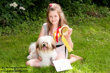 Going for Gold at the Novelty Dog Show. Photo: JLC Photography Ltd