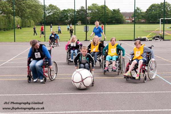 Wheelchair Sport Challenge. Photo: JLC Photography Ltd