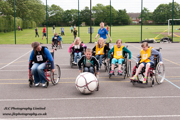 Wheelchair Sport Challenge. Photo: JLC Photography Ltd