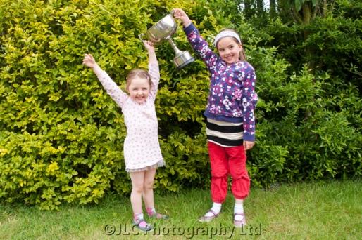 Overjoyed at winning! Photo: JLC Photography Ltd.