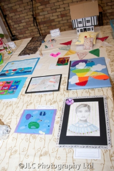 Art and Handicraft entries. Photo: JLC Photography Ltd.