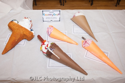 'Dream Ice Cream' cone entries. Photo: JLC Photography Ltd.