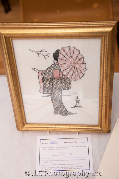 Winning embroidery. Photo: JLC Photography Ltd.