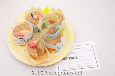 First Prize winning seaside cakes. Photo: JLC Photography Ltd.