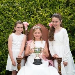 2014 Somersham Carnival Princess with Attendants