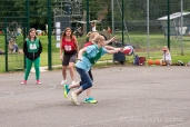 Women playing netball in Somersham