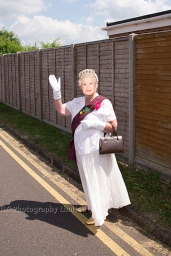 A Commonwealth Carnival Day wouldn't be complete without Her Majesty.